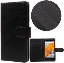 Wileyfox Swift 2 - Swift 2 Plus hoesje - Book Wallet Case - zwart