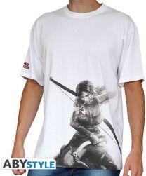 TOMB RAIDER - T-Shirt Lara Croft Homme M