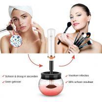 Elektrische Make Up Kwasten Reiniger Make-up Borstel Reiniger - Brush Cleaner - Wit