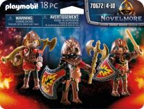 PLAYMOBIL Novelmore Set van 3 Burnham Raiders - 70672