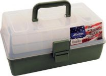 Albatros Usa Wormproof - Tacklebox Met 2 Laden - 31 x 18 x 15 cm - Groen