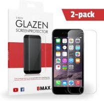 2-pack BMAX iPhone 6 / 6s Glazen Screenprotector | Beschermglas | Tempered Glass