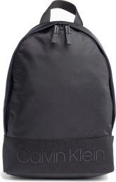 SHOWMODEL Calvin Klein Heren Shadow Round Backpack rugzak, zwart (black), 15x42x30 cm
