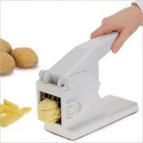 Excellent Houseware patatsnijder - aardappel snijder - kunststof rvs