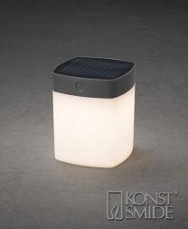 Konstsmide Assisi tafellamp 1 W LED Grijs