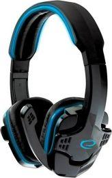 Gaming Headset met Microfoon - PC - Wired met Volumeregeling– Blauw/Zwart