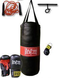 Benlee Punchy Boks set zw/rood