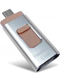 USB Flashdrive- 128 GB- 4 in 1- USB Parya