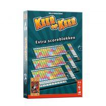 999 Games Keer op Keer Scoreblok 3 stuks Level 1 uitbreidingsspel