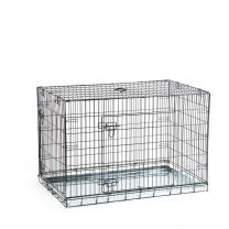 Beeztees - Hondenbench - 2 Deurs - Zwart - 109x69x75 cm