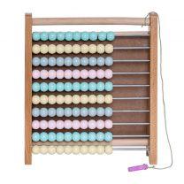 Bloomingville Mini houten abacus en krijtbord