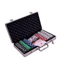 Pokerset Buffalo  aluminium koffer 500 chips denkspel
