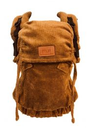 Click Carrier Deluxe Draagzak Ribbed Mustard Brown