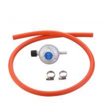 CADAC CG gasdrukregelaar met slang 30mBar