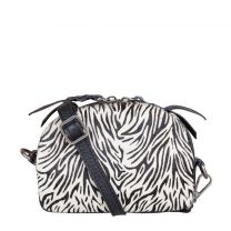 KOOPJESHOEK - Chabo Bags Skin leren crossbody zebra