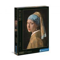 Clementoni Vermeer - Girl with the pearl earring legpuzzel 1000 stukjes