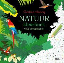 Creative coloring: Natuur kleurboek voor volwassenen