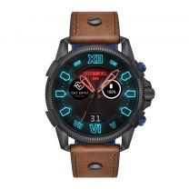 Diesel On Full Guard 2.5 Gen 4 DZT2009 - Smartwatch - Blauw/Gunmetal