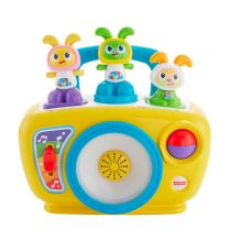 Fisher-Price Bright Beats BeatBo Boogie Boombox EXCL 1 POPPETJE