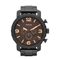 Fossil JR1356 - Horloge - 50 mm - Zwart