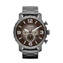 Fossil horloge Nate JR1437 zwart
