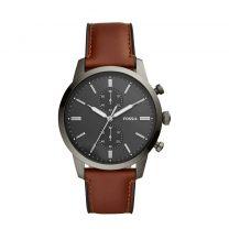 Fossil horloge Townsman FS5522 bruin