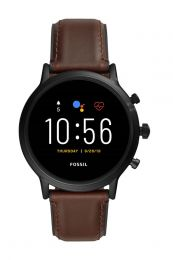 smartwatch Fossil The Carlyle Gen 5 heren display FTW4026