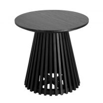 Kave Home - Bijzettafel Jeanette Ø 50 cm zwart