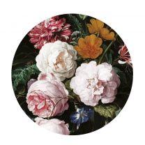 KEK Amsterdam behangcirkel Golden Age Flowers (ø142.5 cm) ( cm)