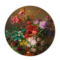 KEK Amsterdam behangcirkel Golden Age Flowers (Ø142.5 cm) (Ø142.5 cm)