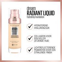 Foundation Maybelline New York Dream Radiant Liquid Foundation- 1 Natural Ivory