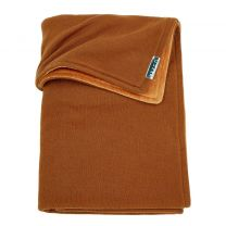 Meyco Knit basic ledikantdeken - 100x150 cm - Camel