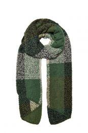 ONLY geruite sjaal groen