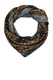 ONLY sjaal Dahlia met panterprint zwart
