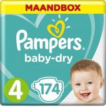 Pampers Baby-Dry Luiers - Maat 4 - 116 Stuks