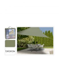Pro Garden schaduwdoek (3,6x3,6x3,6 m)
