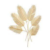 Wanddecoratie bladeren houd pt, wandkunst Beech Leaves (46x2x62 cm)