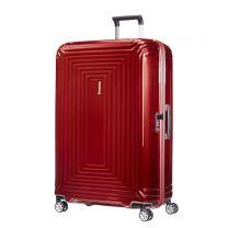 Samsonite trolley Neopulse Spinner 81 cm. metallic rood