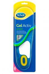 Scholl Gel Activ Inlegzool Sport Vrouw 38-42