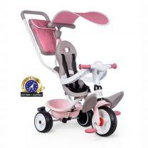 Smoby Baby Balade Plus - Driewieler - Unisex - Roze / Beige