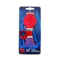 Spiderman fietstoeter jongens rood blauw
