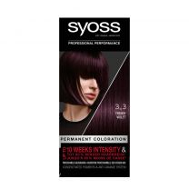 Syoss Color baseline 3-3 Trendy Violet 1 stuks