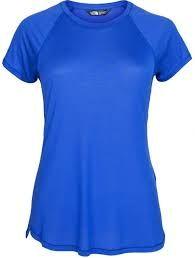The North Face Radius S/S - Sportshirt - S - Dames - Amparo blue