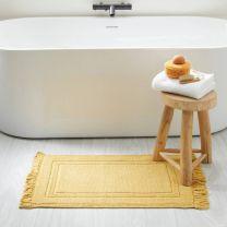 home badmat (80 x 50 cm) Geel