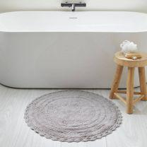 Home badmat (72x72 cm) grijs