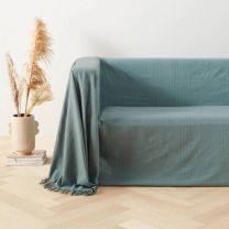 grand foulard Bonnie (275x275 cm) Groen