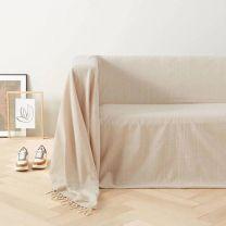 grand foulard Bonnie (275x275 cm) Beige
