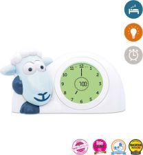 Zazu - Sam - Slaaptrainer - Blauw / Wit - Kinderwekker met nachtlamp functie en slaaptimer NIEUW