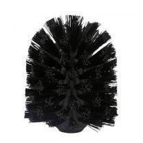 Zone toiletborstel kop Ume (7x10 cm) zwart